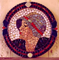 Flapper Girl Mosaic