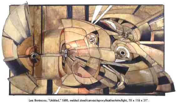 Lee Bontecou's Untitled
