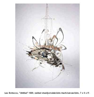 Lee Bontecou Welded