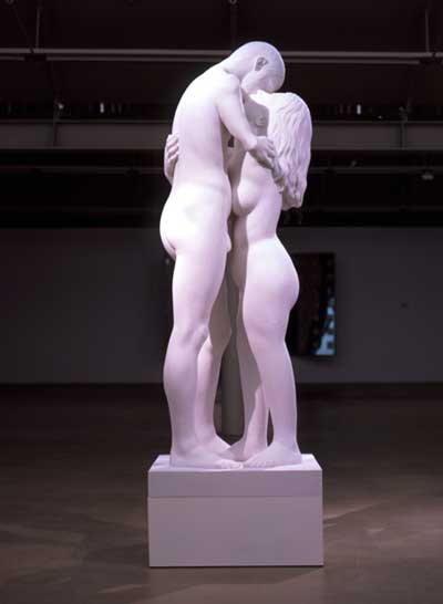 Kiss Marble Sculpture