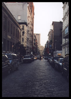 NYC Street Canyon